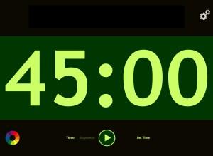 iPad Kitchen Timer App